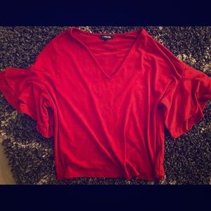 Red blouse, size small from Express!